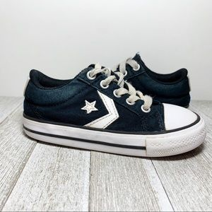 Converse Black & White All Star Low Top Sneakers